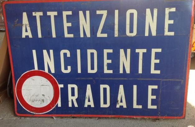 d1d9dc0eb Un incidente che avrebbe potuto avere conseguenze ben peggiori quello  avvenuto ieri pomeriggio a Cerrione, sulla strada che conduce all'aeroporto.