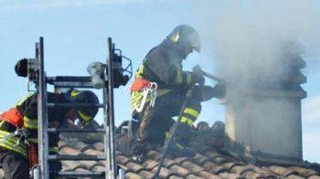 Brucia il tetto