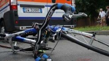 ciclista muore
