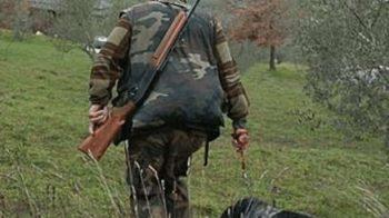 cacciatore aggredito