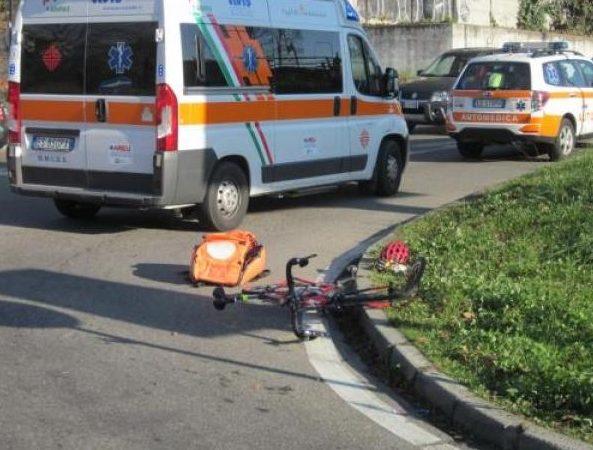 ciclista travolto