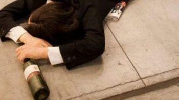 Ubriachi al mattino dopo una festa a Biella