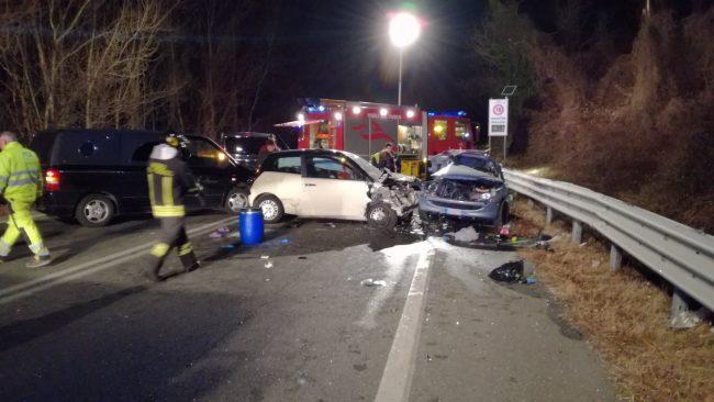 Torino / incidente mortale nella notte : Morti Simone Goglio e Raffaele Antonucci