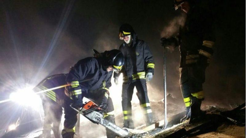 Tetto in fiamme