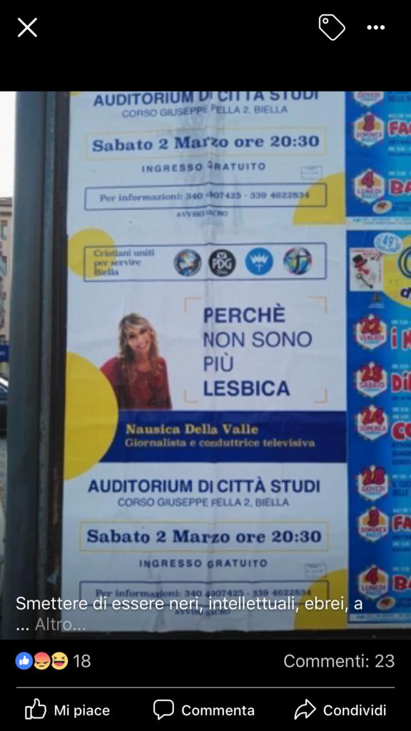 Nausica Della Valle ospite a Biella per spiegare com'è «guarita dall ...