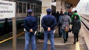 Fermato sul treno