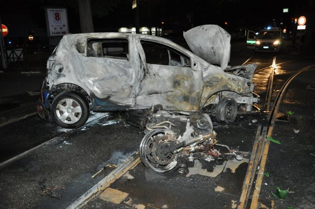 Motociclista muore