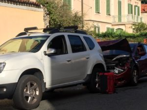 Incidente in via Milano