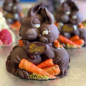 conigli di cioccolato