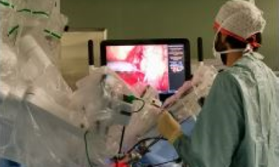 robot asporta tumore