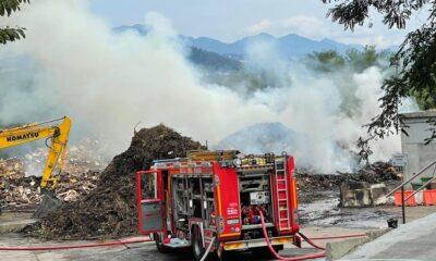 incendio all'ecocentro